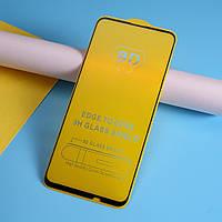 9D full glue защитное стекло для Huawei P Smart Z (black) полная проклейка