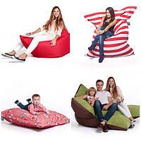 В продаже появились бескаркасные кресла-мешки и диваны