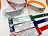 Медицинские  контрольные браслеты с карманом для вкладыша, фото 6