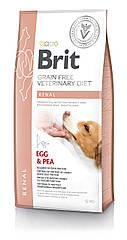 Сухой корм для собак Brit Veterinary Diet Dog Renal беззерновой при хронической почечной недостаточности 12кг