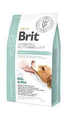 Сухой корм для собак Brit Veterinary Diet Dog Struvite при струвитном типе мочекаменной болезни 2кг