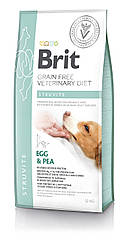 Сухой корм для собак Brit Veterinary Diet Dog Struvite при струвитном типе мочекаменной болезни 12кг