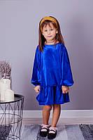Детское бархатное платье, фото 1
