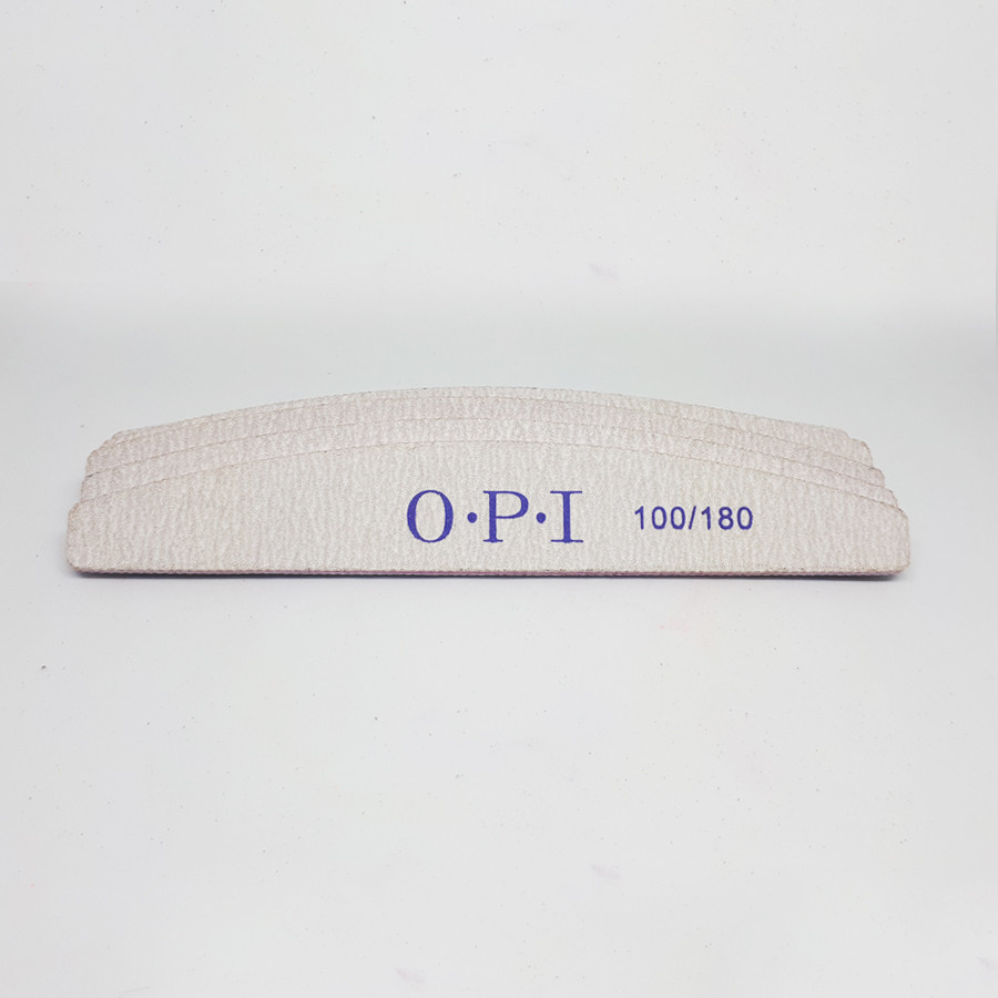 Пилочки OPI полукруг 100/180 (упакока 25шт)