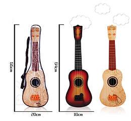 Гитара, 2 вида, с ремешком, медиатором, 898-3D