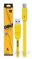 USB кабель REMAX Full Speed Cable micro-USB Yellow