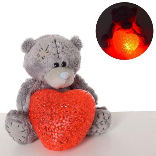 """Мягкая игрушка """"Мишка+сердце"""", свет, MP1809"""