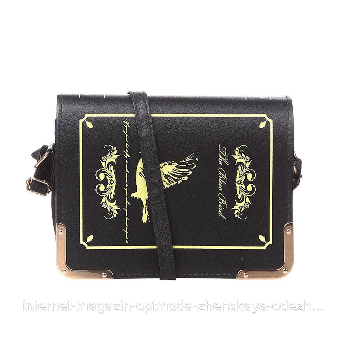 Стильна оригінальна жіноча сумочка з екошкіри