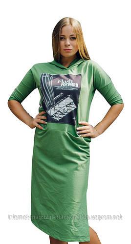 Платье женское с рисунком оптом