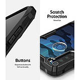 Чохол Ringke Fusion X Design для Xiaomi Redmi Note 8 CAMO BLACK, фото 6