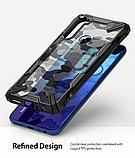Чохол Ringke Fusion X Design для Xiaomi Redmi Note 8 CAMO BLACK, фото 7