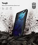 Чохол Ringke Fusion X Design для Xiaomi Redmi Note 8 CAMO BLACK, фото 8