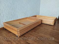 Деревянный подкроватный ящик на колесиках от производителя, фото 2