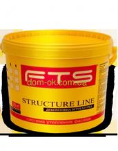 Штукатурка  FTS/ФТС силиконовая Structureline короед, барашек Баранек 1,0мм.