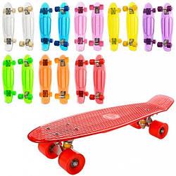 Скейт пенни, алюминиевая подвеска, микс цветов, MS0855-2