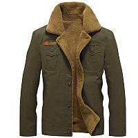 Outdoor Fashion Мужская куртка в стиле милитари 100% хлопок