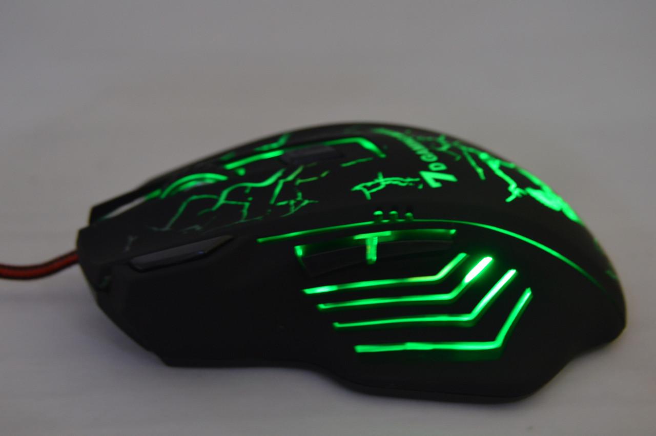 Игровая мышка с подсветкой LED X7 4800 dpi USB 2.0 GAMING MOUSE