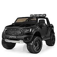 Детский электромобиль джип черный