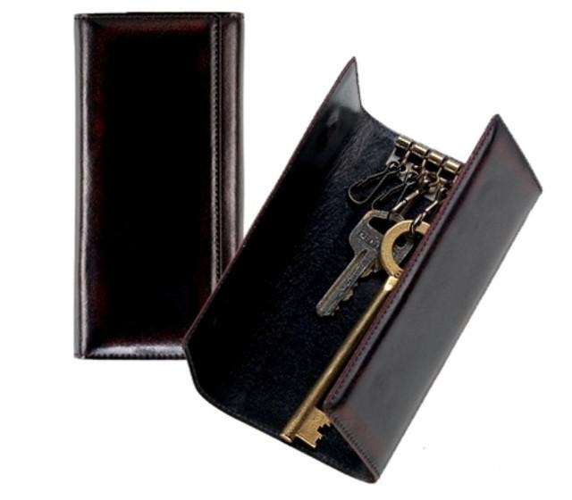 Кожаные ключницы, чехлы для ключей оптом