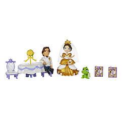 Игровой набор Принцессы Дисней Королевская свадьба Рапунцель. Оригинал Hasbro B5343/B5341