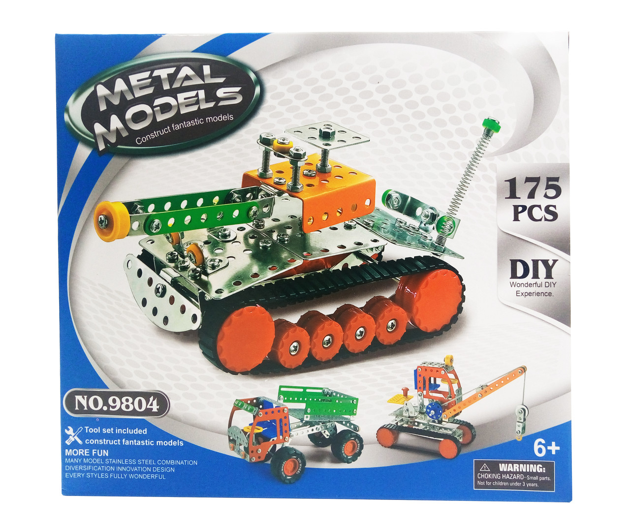 Конструктор 980 (9804) Танк