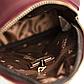 Женский Рюкзак Сумка Маленький Мини Стильный Weichen (961-9) Искусственная Кожа Бордовый, фото 5