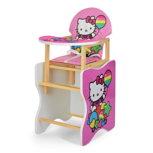 Стульчик для кормления М V-112 -49-PU Hello Kitty