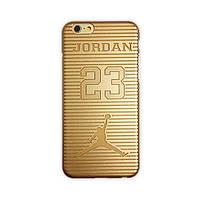 """Ультратонкий чехол для iPhone 6 4.7"""" Michael Jordan 23 - золотистый цвет"""