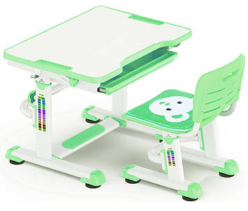 Комплект парта и стульчик Evo-Kids BD-08 Green