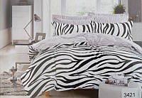 Комплект постельного белья ELWAY евро 3421 сатин