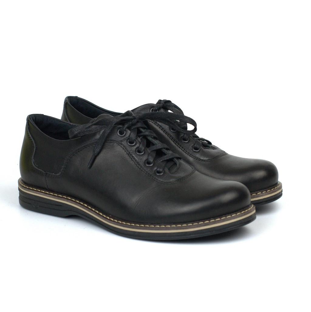 Кожаные мужские облегченные туфли черные Rosso Avangard Prince 2 Black Comfort