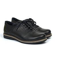 Кожаные мужские облегченные туфли черные обувь комфорт Rosso Avangard Prince 2 Black Comfort