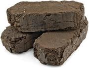 Торфяные брикеты топливные, борфобрикет
