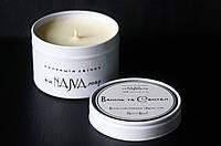 Ваніль та Сантал Арома свічка соєва / Арома свеча соевая