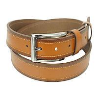 Стильний чоловічий ремень Bond 49400 jeans light brown