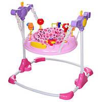 Детский прыгунок BC01-8 розовый, фото 1