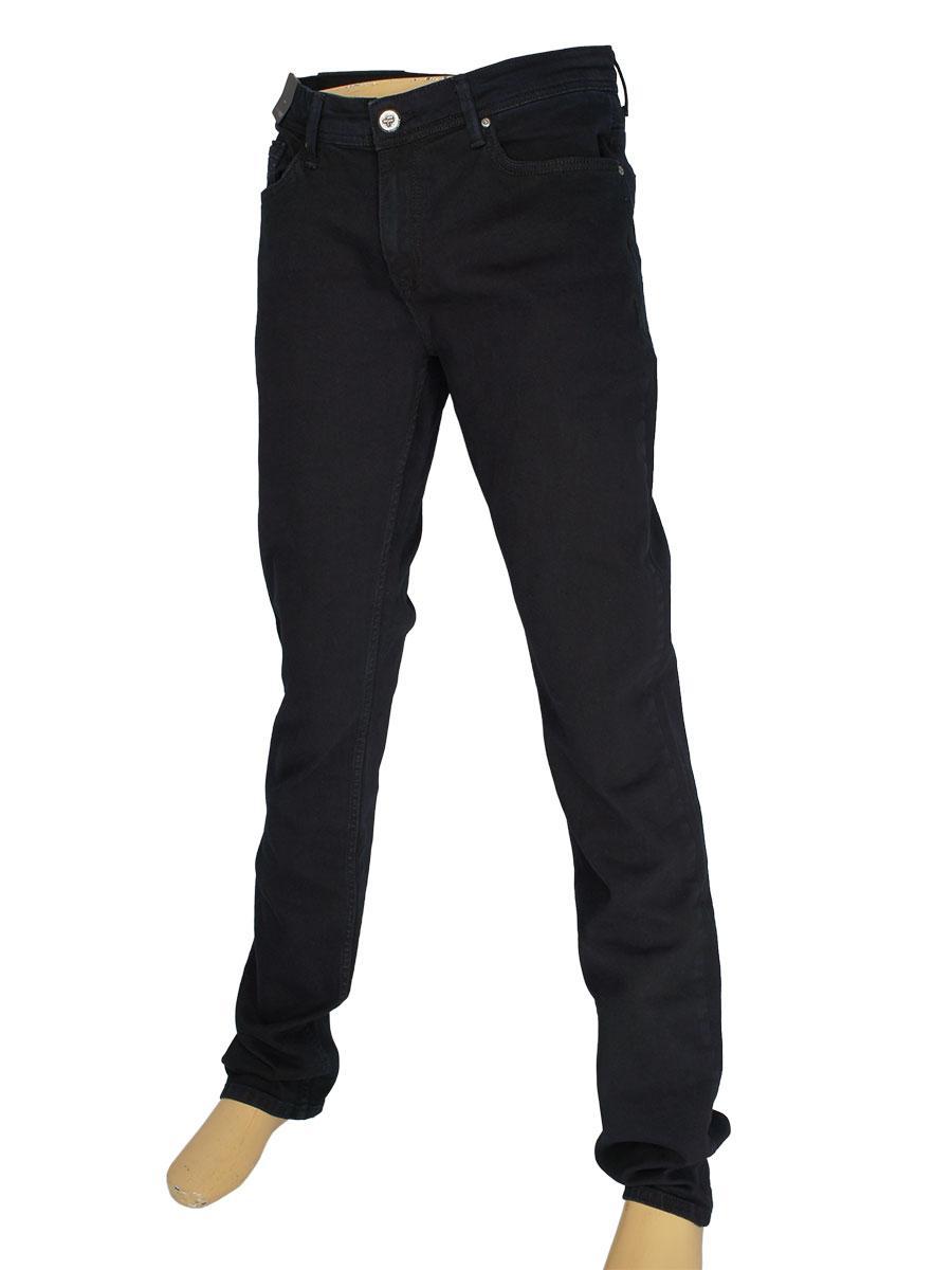Турецькі чоловічі джинси X-Foot 140-2429 C-Blue Black у великому розмірі