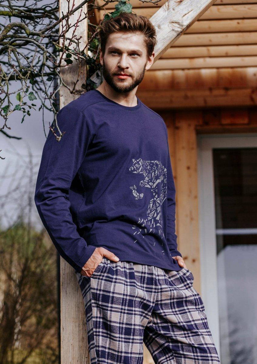 Пижама мужская / Домашний комплект Key MNS 044, XL