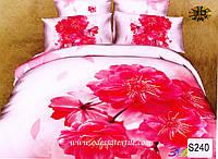 Комплект постельного белья  ELWAY сатин 3D 240