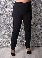 Теплые брюки со стрелками без застежек 60 размер
