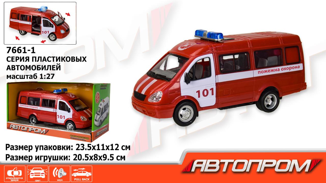 Машина на батарейках. Пожарная охрана, 7661-1