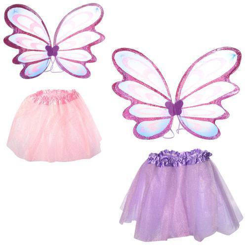 Крылья карнавальные, юбка, 2 цвета, X15091
