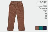 Штаны для мальчика ШР 317 Бемби
