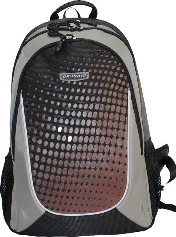 Рюкзак ортопедический Dr Kong,Z158, размерL, 46*31*17, черный