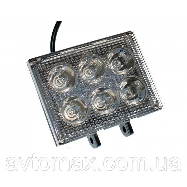 Светодиодная фара AllLight 39 type 18 W 6 chip EPISTAR spot 9-30V