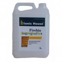 Огнебиозащитная пропитка для дерева Firebio Impregnation Bionic-House 20 кг