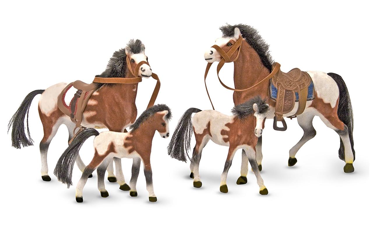 Игровой набор Семья лошадей Melissa&Doug (MD2238)