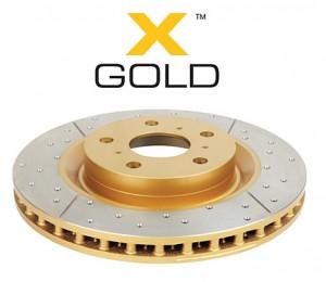 Диск тормозной передний DBA 2744X  X-GOLD Toyota CAMRY ASV70,AXVA70,GSV70  2018-