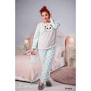 Пижама плюшевая 48-52. 52-54.56-58