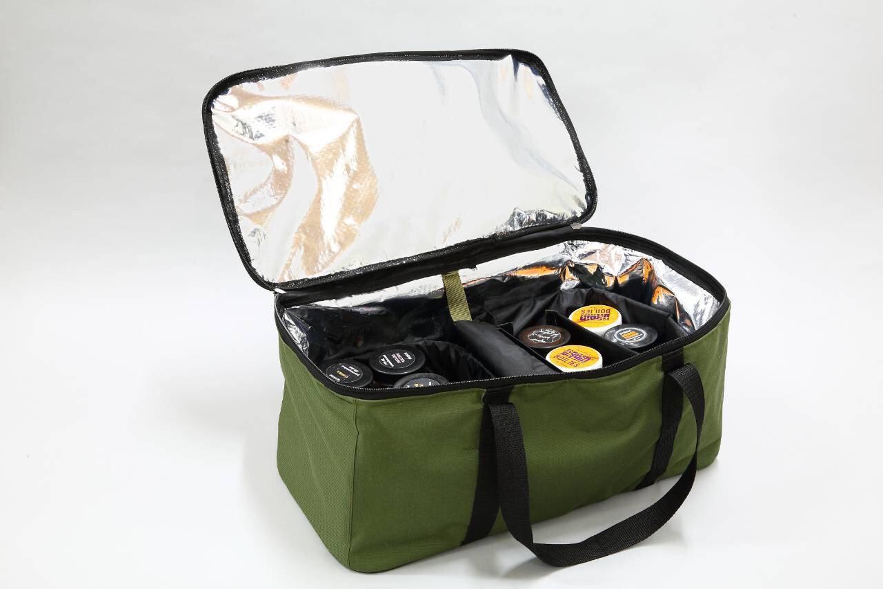 Рыбацкая вместительная термосумка для дипов, атрактантов, бойлов, водонепроницаемая, до 23 литров
